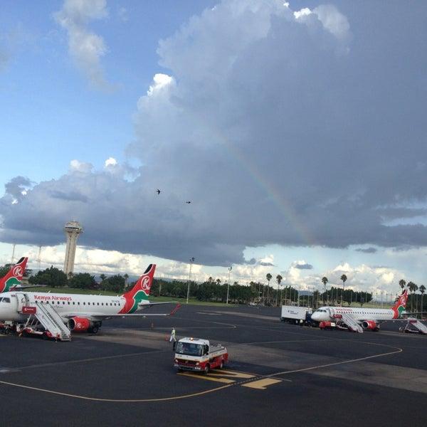 Photo taken at Jomo Kenyatta International Airport (NBO) by Vasily O. on 4/19/2013