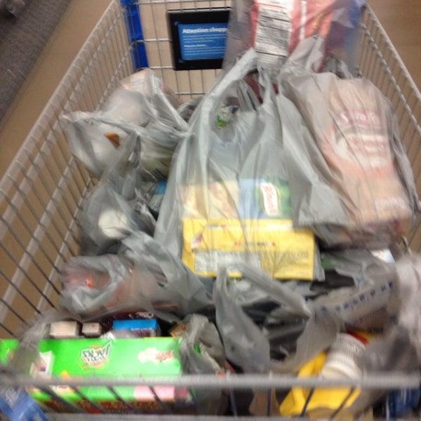 Photo taken at Walmart Supercenter by Meechii M. on 5/9/2014