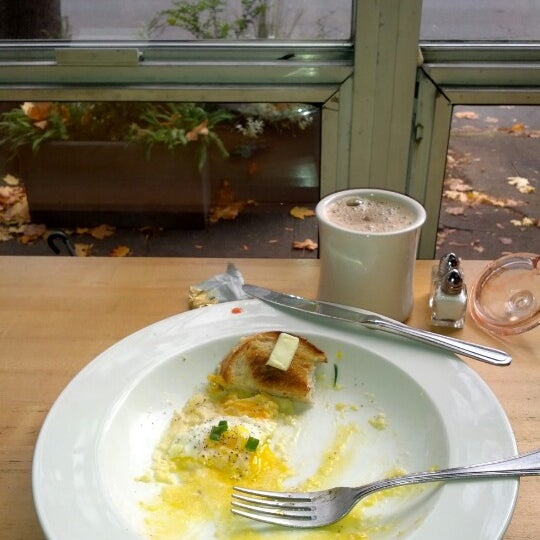 Photo taken at Louisa's Cafe & Bakery by Sam C. on 11/7/2012