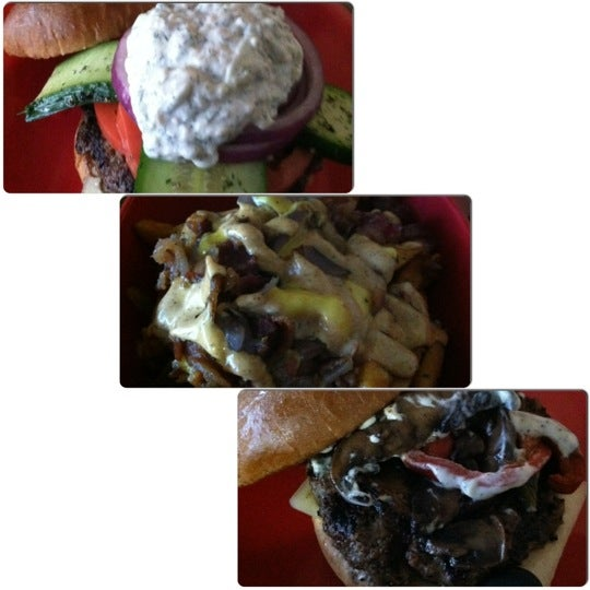 Photo taken at G Burger by Oui D. on 11/18/2012