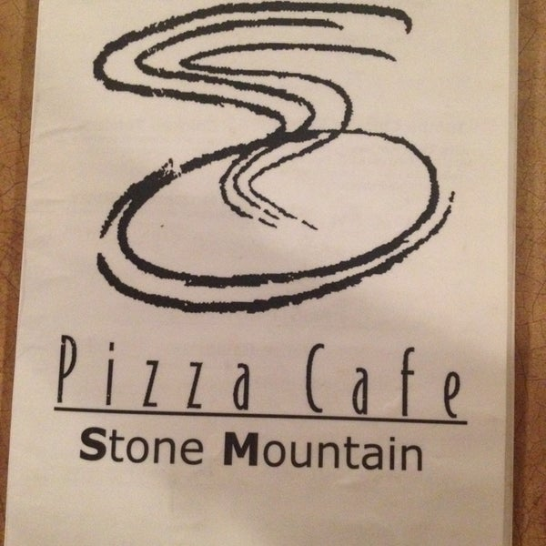 Photo taken at Stone Mountain Pizza Cafe by Manda B. on 9/25/2013