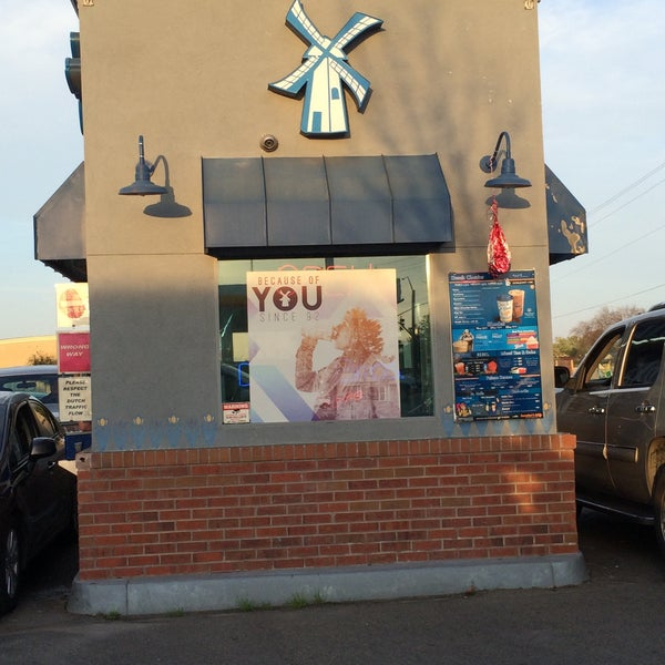 Photo taken at Dutch Bros. Coffee by Russell M. on 2/26/2016