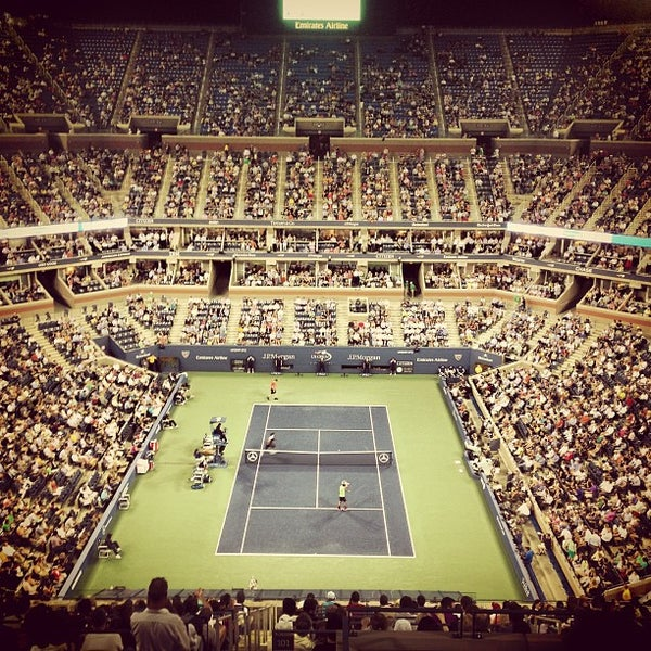 Photo taken at US Open Tennis Championships by Andrew C. on 8/29/2013
