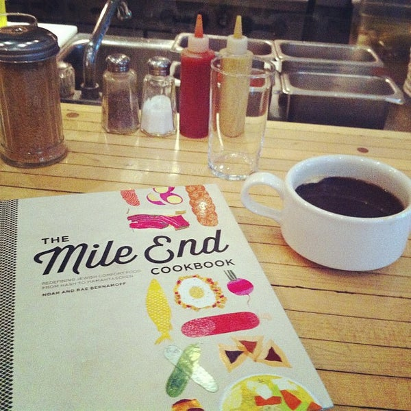 Photo taken at Mile End Delicatessen by Richmond E. on 10/30/2012