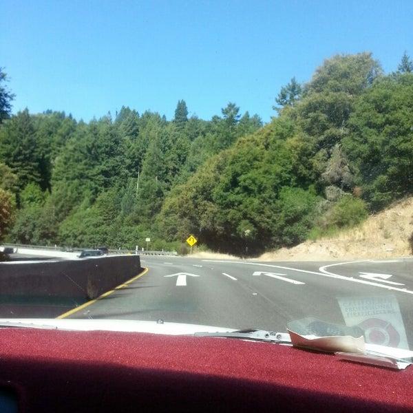 Photo taken at Santa Cruz Mountains by Dorothy D. on 6/14/2013
