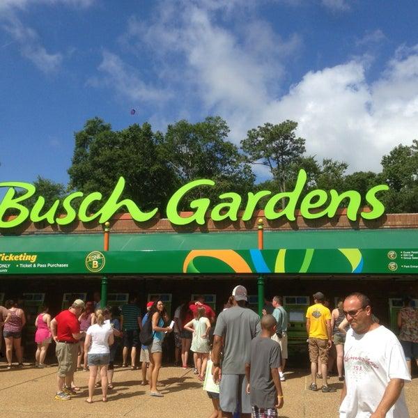Photo taken at Busch Gardens Williamsburg by CJ F. on 7/15/2013