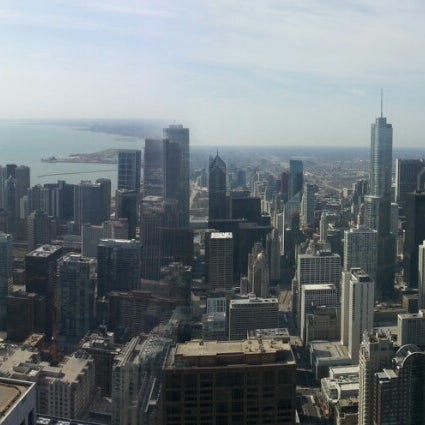 Photo taken at John Hancock Center by Dennis S. on 4/21/2013