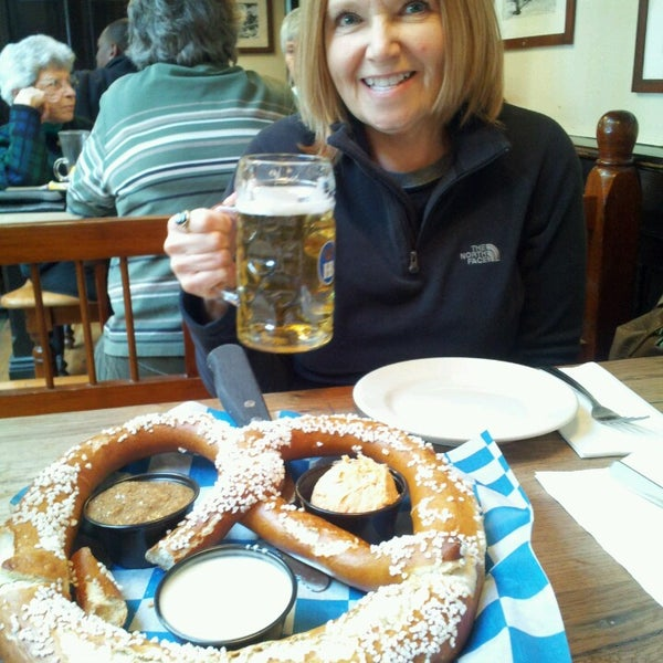 Photo taken at Hofbräuhaus Newport by Mark G. on 2/19/2014