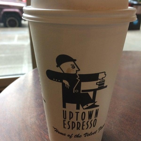 Photo taken at Uptown Espresso by Rain T. on 11/18/2016