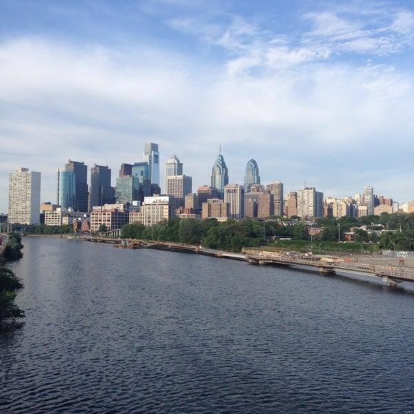 Photo taken at South Street Bridge by Deniz S. on 7/6/2014