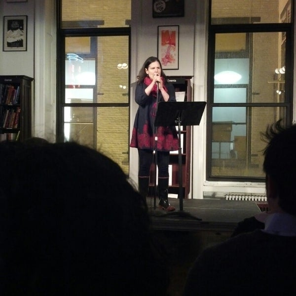 Photo taken at Housing Works Bookstore Cafe by Jackie G. on 2/6/2014