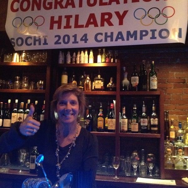Photo taken at Cornerstone Bar & Grill by Kim C. on 2/23/2014