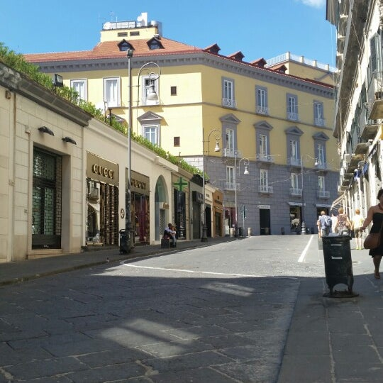 Photo taken at Piazza dei Martiri by Carmine D. on 8/18/2014