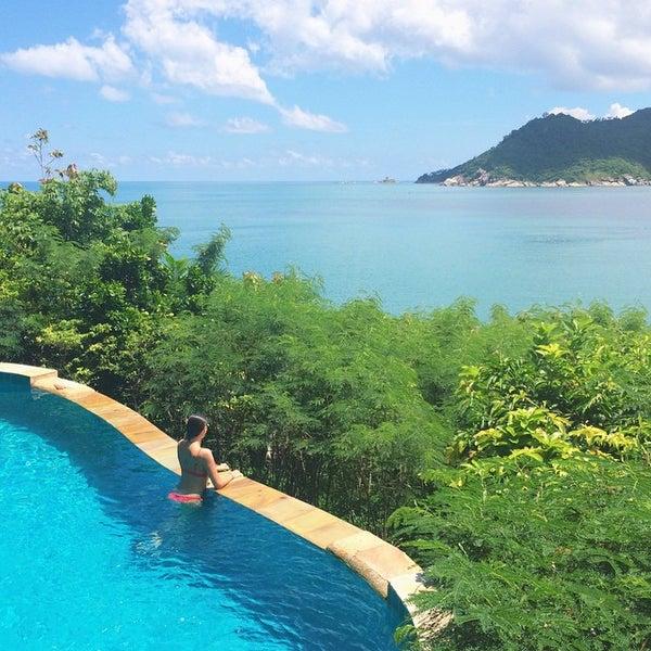Photo taken at Santhiya Resort And Spa Koh Phangan by Anna G. on 10/10/2014