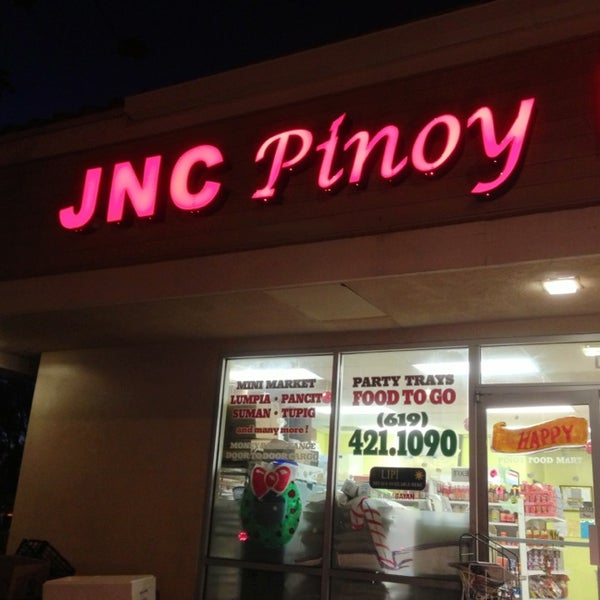 Photo taken at JNC Pinoy Foodmart Inc by Harvey C. on 1/4/2013