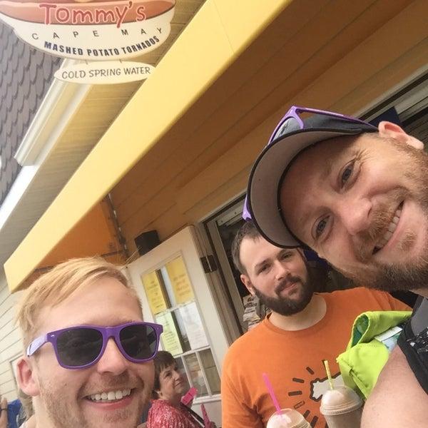 Photo taken at Hotdog Tommy's by Brett B. on 7/18/2015