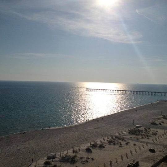 Photo taken at Hilton Pensacola Beach by Christina A. on 11/22/2012