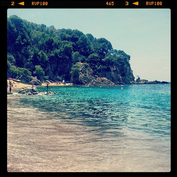Photo taken at Cala Canyelles by Juanma on 6/24/2013