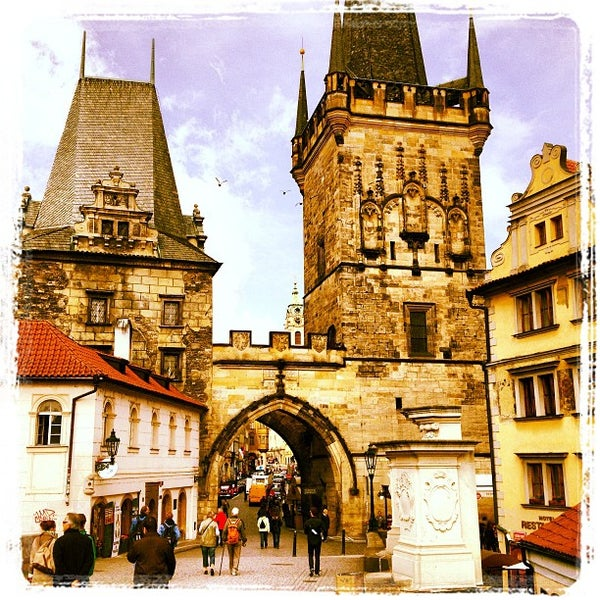 Photo taken at Karlův most | Charles Bridge by Tomáš F. on 5/25/2013