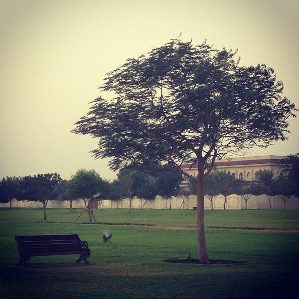 Photo taken at Aspire Park by mohammed l. on 1/4/2013
