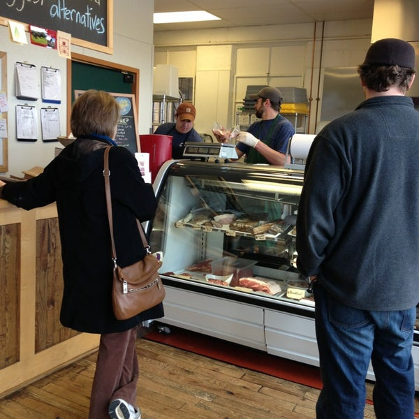 Photo taken at Porter Road Butcher by Scott G. on 3/23/2013