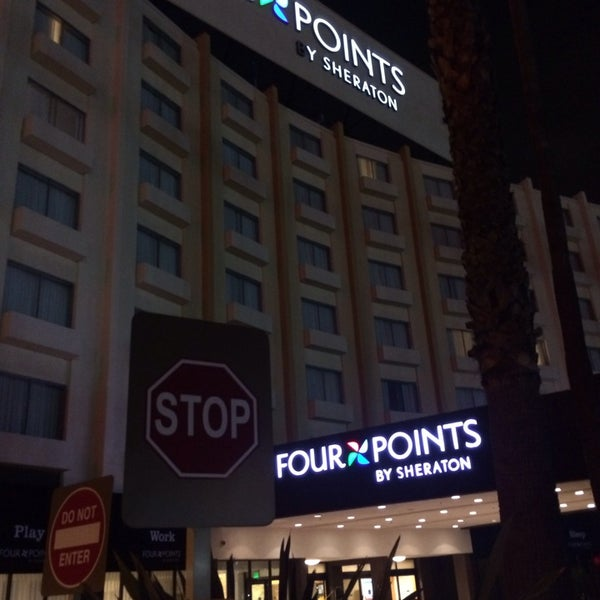Photo taken at Four Points by Sheraton Los Angeles International Airport by Chris M. on 3/5/2014
