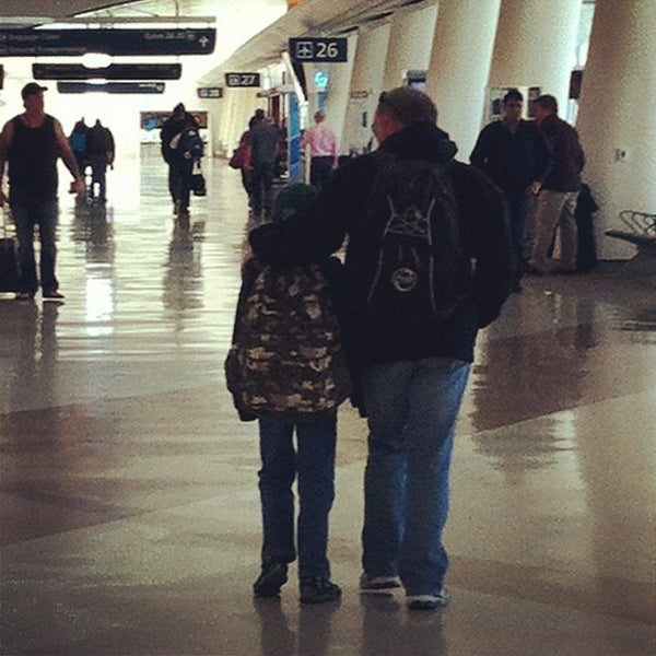 Photo taken at Terminal A by Diane M. on 1/21/2013