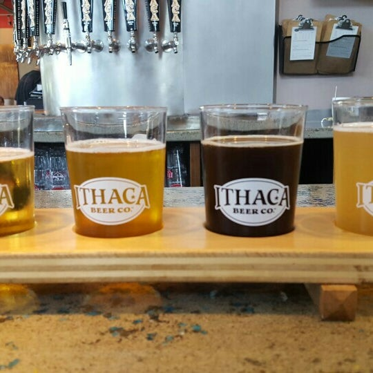 Photo taken at Ithaca Beer Co. Taproom by Alexandra M. on 7/21/2016