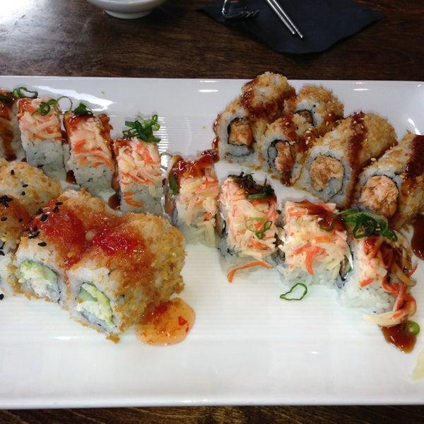 Photo taken at Blue Sushi Sake Grill by Margaret S. on 3/9/2013