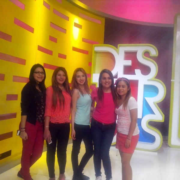 Photo taken at Multimedios Televisión by Antonio C. on 2/20/2014