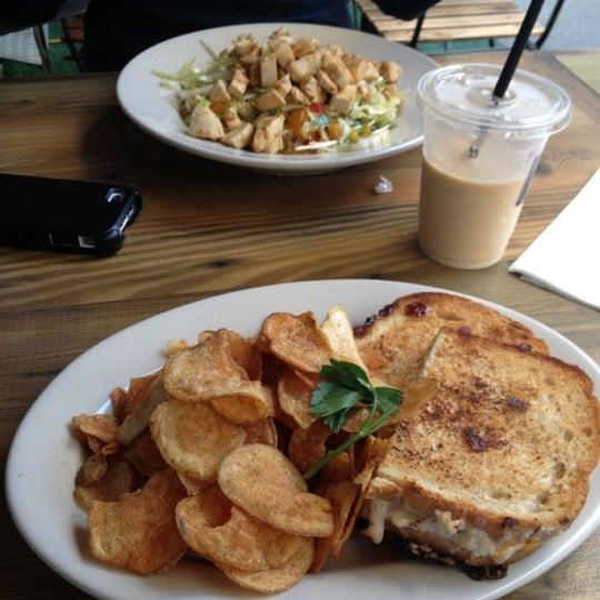 Photo taken at LA Café by Eddie M. on 10/21/2012