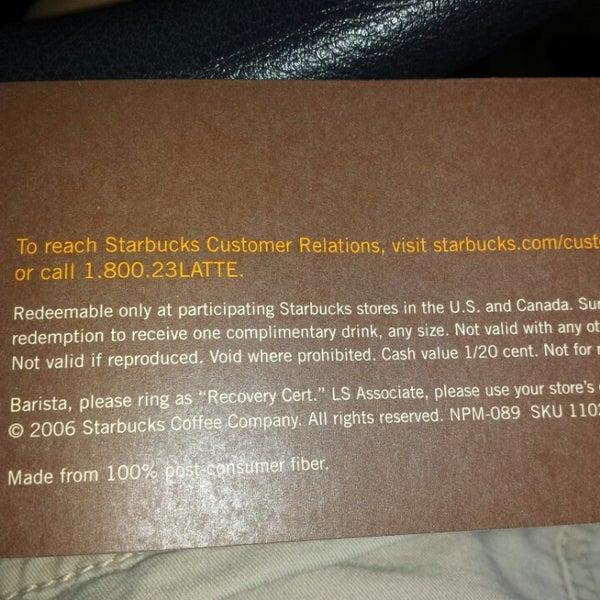 Photo taken at Starbucks by Rachelle on 4/7/2014