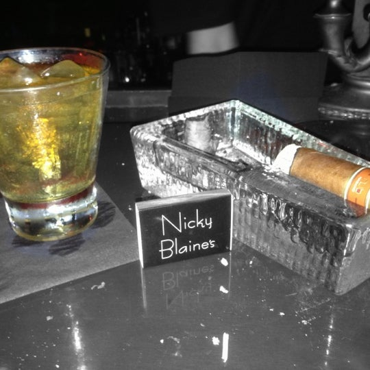 Photo taken at Nicky Blaine's Cocktail Lounge by Brian G. on 11/4/2012