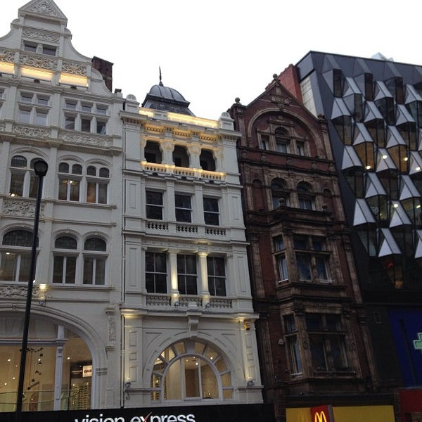 Photo taken at Oxford Street by Stefano S. on 3/17/2013