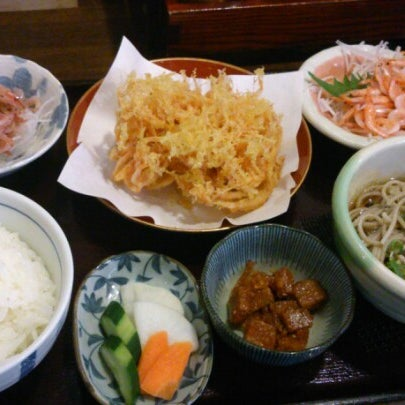 Photo taken at 食堂さくら屋 by T N. on 10/14/2012