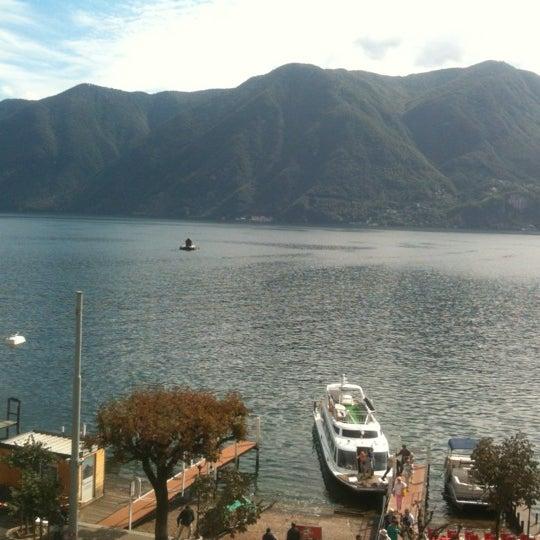 Photo taken at Lago di Lugano by Alessio B. on 9/28/2012