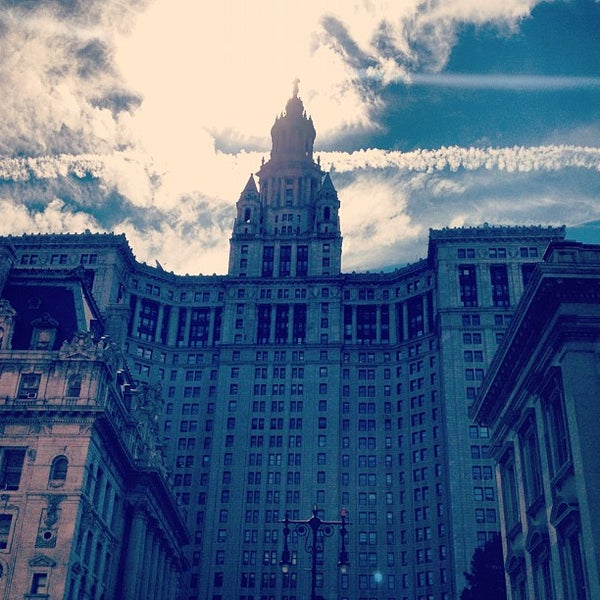 Photo taken at City Hall Park by Danielle C. on 8/16/2013