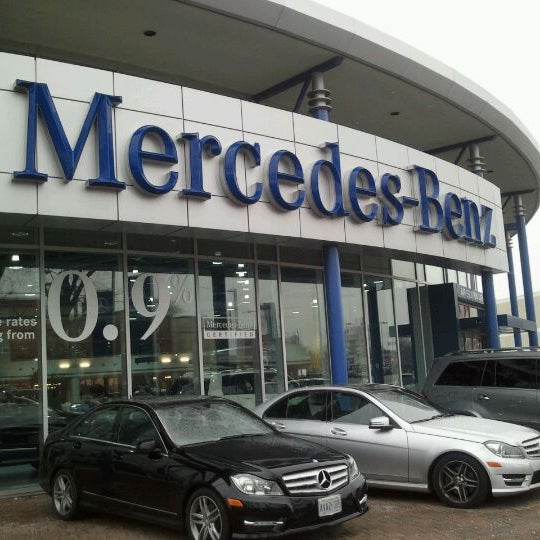 mercedes benz canada head office 98 vanderhoof ave. Black Bedroom Furniture Sets. Home Design Ideas