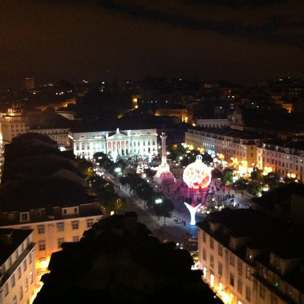 Photo taken at Elevador de Santa Justa by Artem I. on 12/22/2012