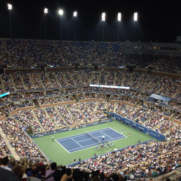 Photo taken at 2014 US Open Tennis Championships by Naman S. on 8/31/2013