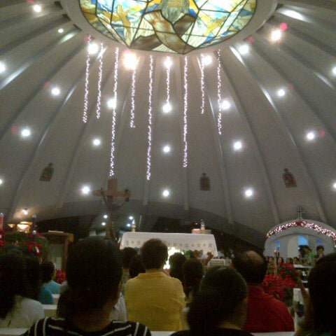 Photo taken at Sto. Niño de Paz Community Chapel by Jack B. on 12/16/2012