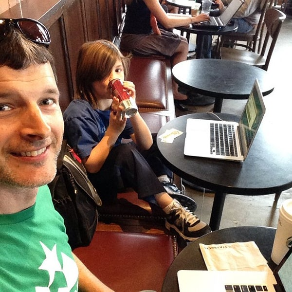 Photo taken at Starbucks by Michael S. on 4/6/2013