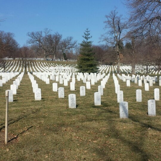 Photo taken at Arlington National Cemetery by Sean W. on 3/9/2014