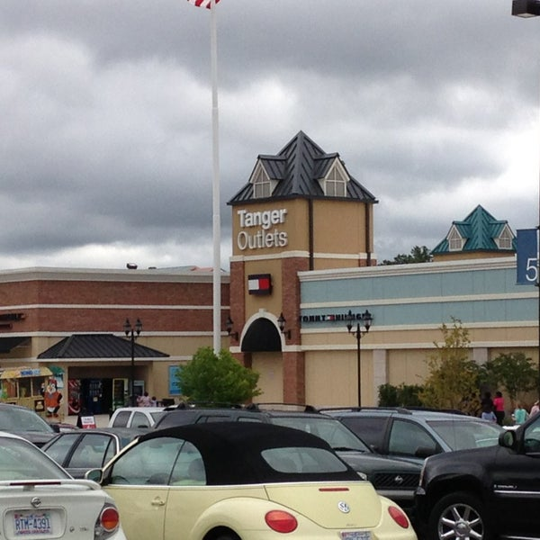 Photo taken at Mebane Tanger Outlets by Charlotte H. on 8/18/2013