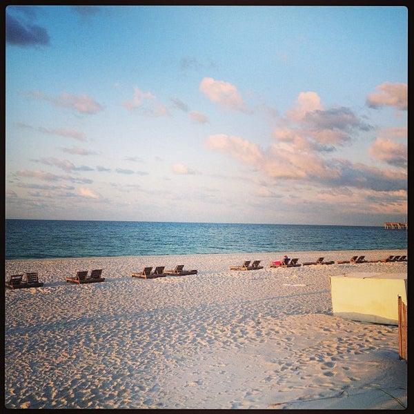 Photo taken at Hilton Pensacola Beach by Adam B. on 5/5/2013