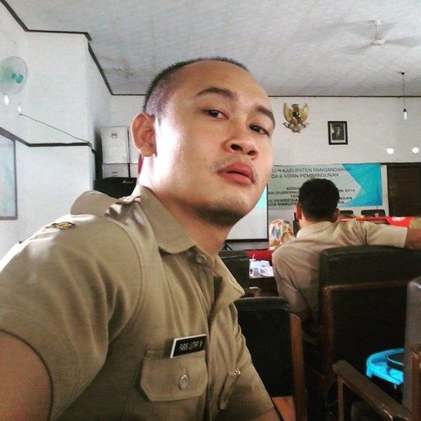 Photo taken at Pantai Barat Pangandaran by Luthfi M. on 6/3/2015