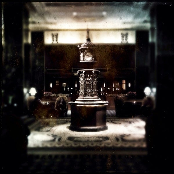 Photo taken at Waldorf Astoria New York by Geoffrey O. on 2/24/2013