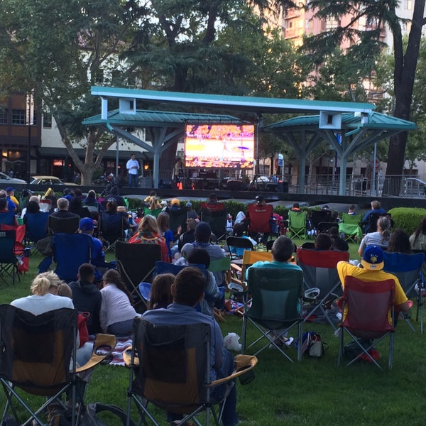 Photo taken at Todos Santos Plaza by Joey S. on 6/14/2016