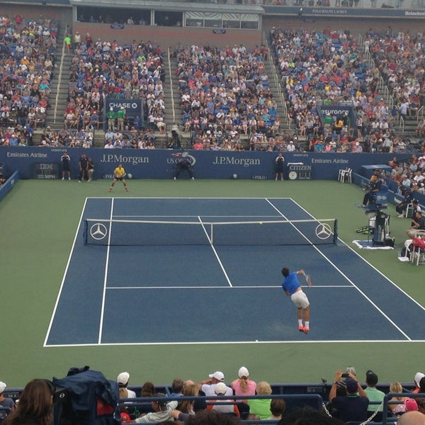 Photo taken at US Open Tennis Championships by Alexi P. on 9/3/2013