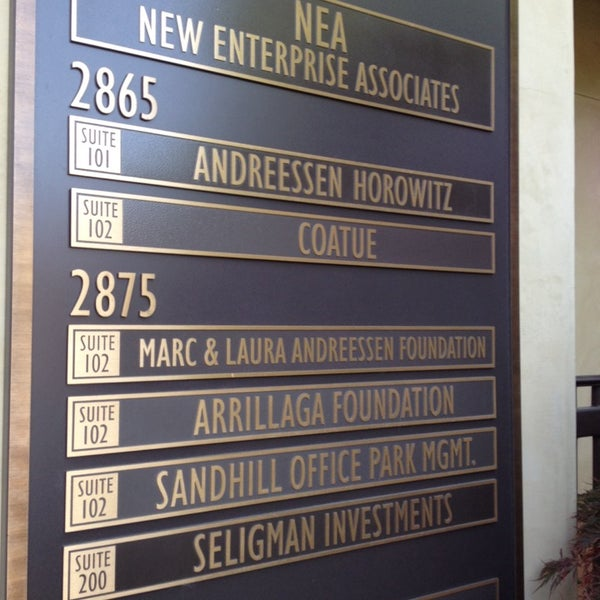 Photo taken at Andreessen Horowitz by Jessica P. on 11/6/2013